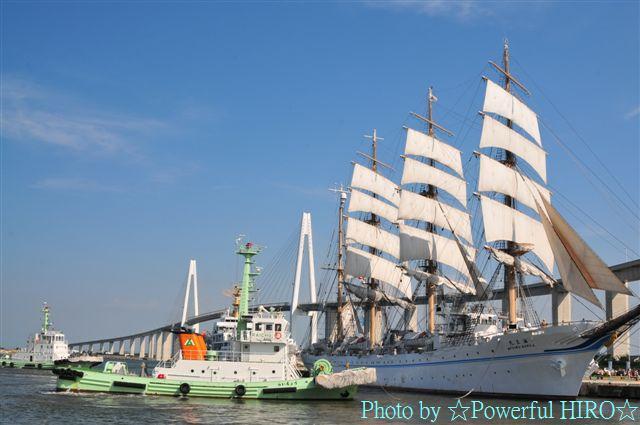 新旧海王丸 W展帆 (14)