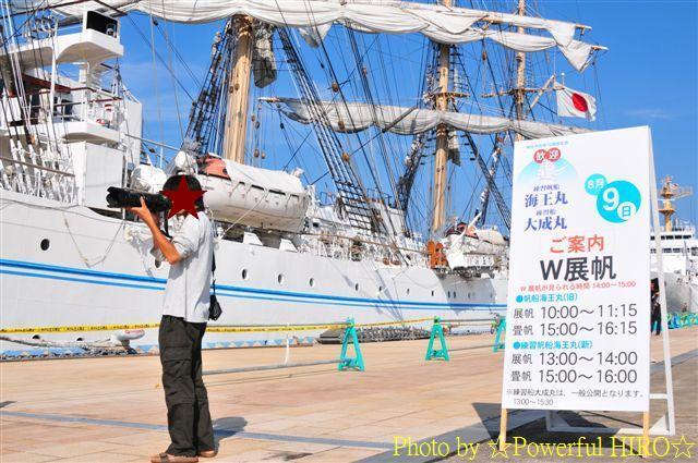新旧海王丸 W展帆 (15)
