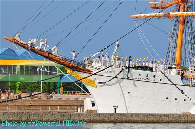 新旧海王丸 W展帆 (24)