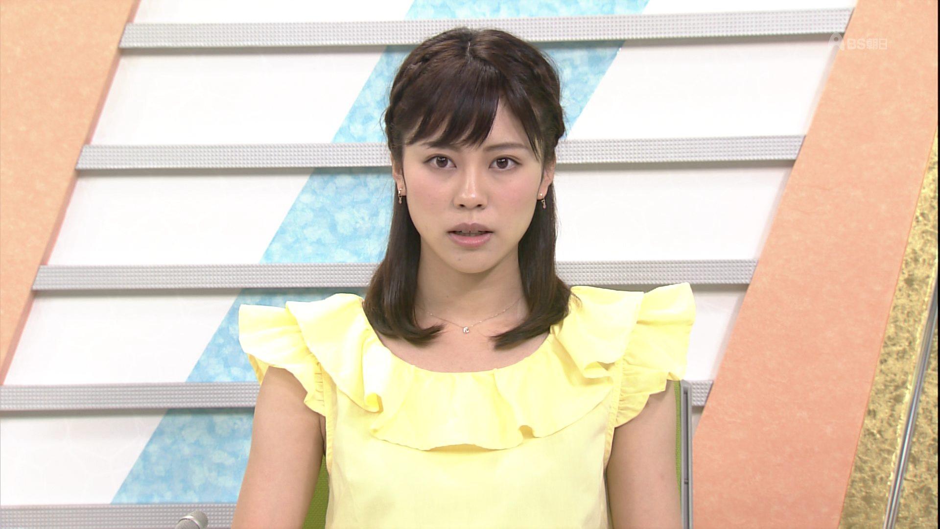 平野祐芽 テレビ朝日アナウンサー ニュースアクセス 0003