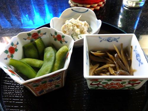 28小鉢3品ポテサラ枝豆きんぴら