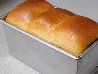 バターを使わないふすま食パン