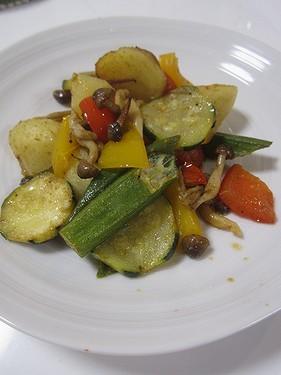 20150809 夏野菜のサブジ