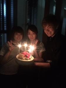 由香さん誕生日