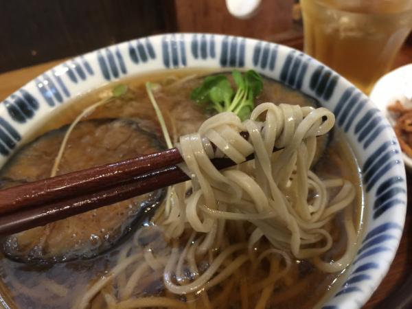 絹かわなすの冷かけ麺5