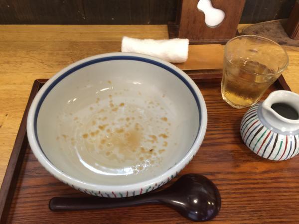 ぶっかけ山菜完食9