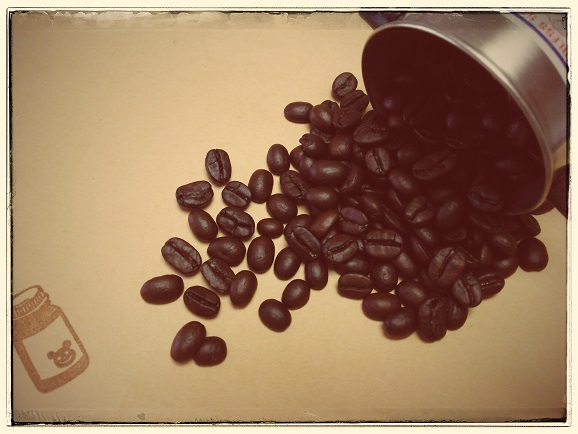 癒しのコーヒー豆