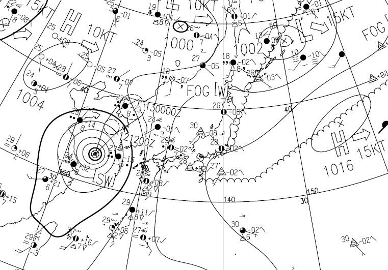 20150712天気図