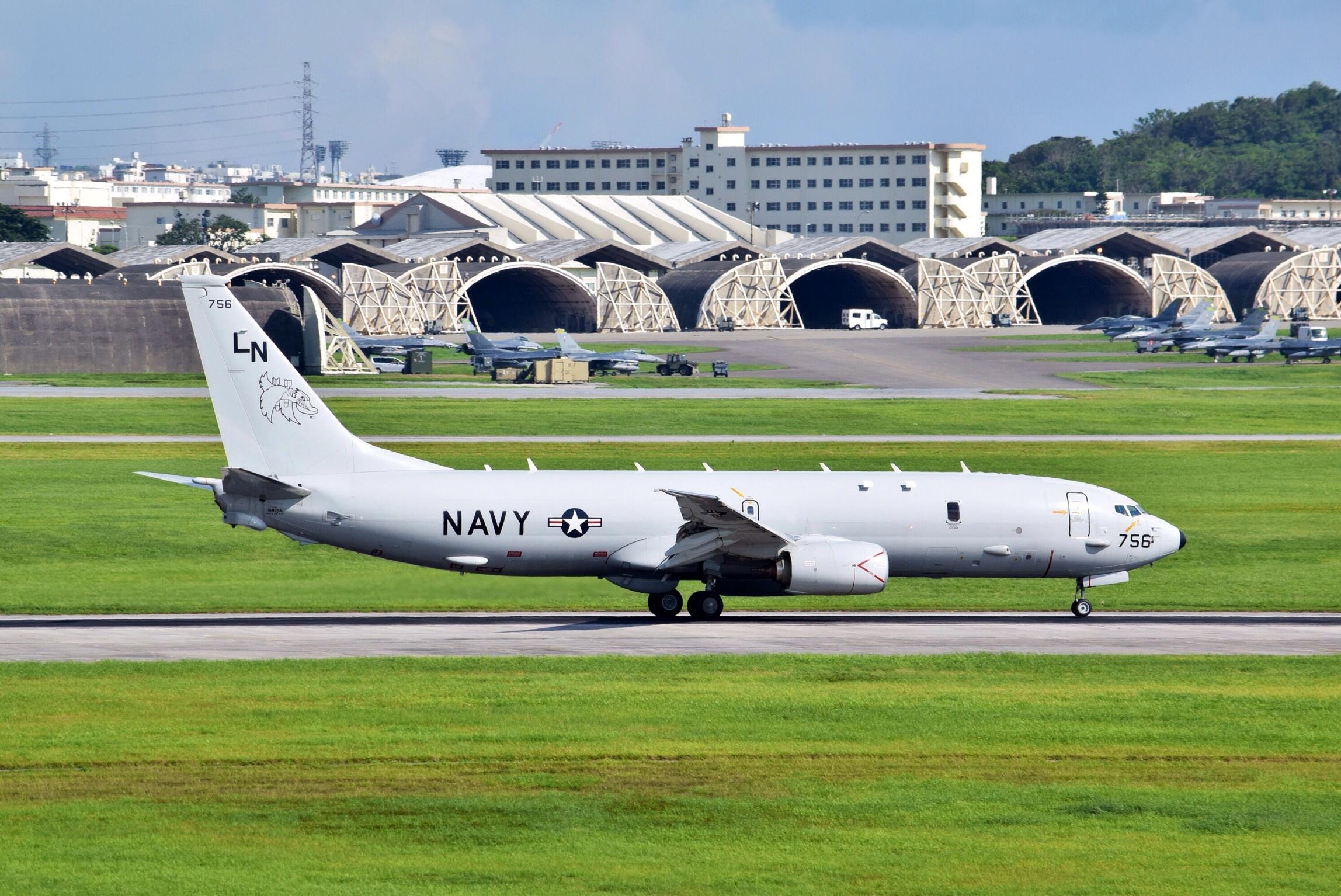たっつーの気ままな飛行機撮影記 嘉手納飛行場撮影編(2)〜737ベースのP-8ポセイドンのタッチアンドゴー訓練!〜