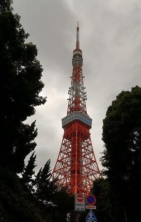 東京タワー昼