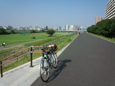多摩川 朝ポタ