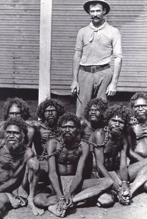 20150720先住民を白人移民らが奴隷化した写真