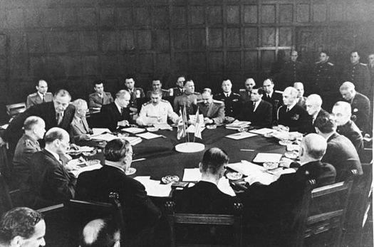 20150731ポツダム会談の様子1945年7月