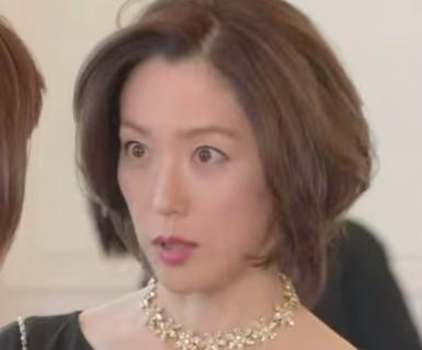 美しき罠 残花繚乱 若村麻由美さんのセレブなヘアスタイル