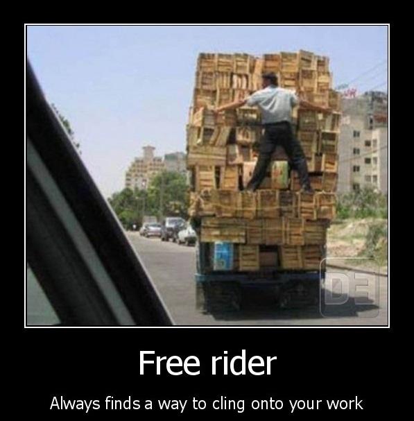 A free rider