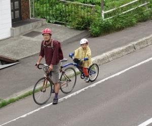 こぐまる自転車
