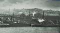 海から見た当時の船会社