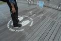 横浜三塔が見える地点