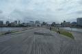 大さん橋から見る横浜の町