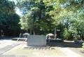 徳川慶喜の墓と記念碑