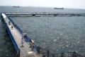 渡り通路と沖桟橋