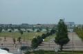 駅から見る湖