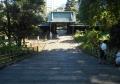 杏壇門より下を見る