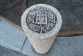寛永通宝の石柱