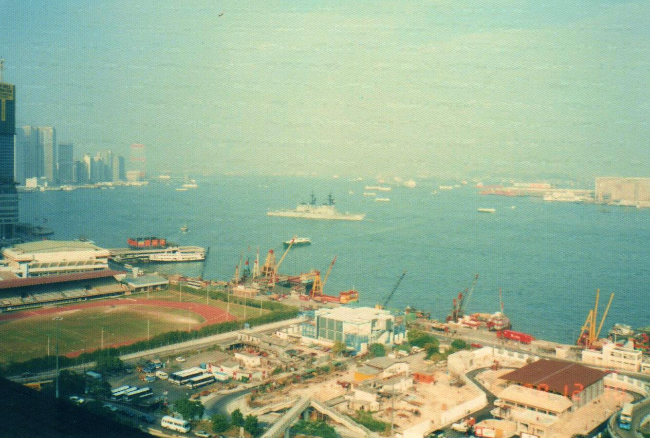 香港ビクトリア・ハーバー②(1988年12月)