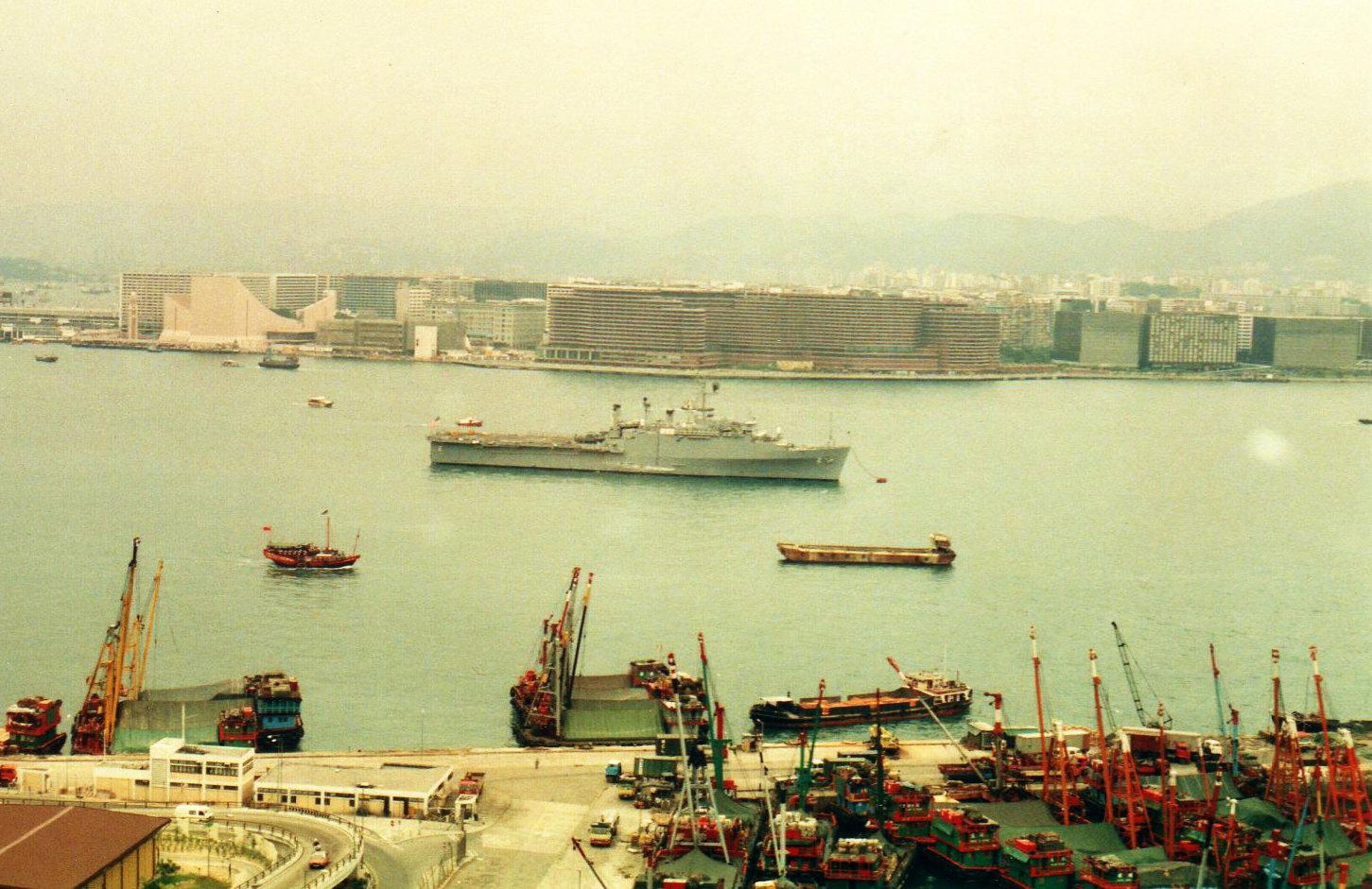香港 ビクトリア・ハーバー①(1988年12月)