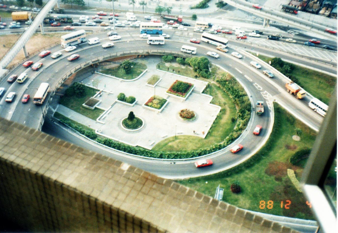 香港 ビクトリア・ハーバー④(1988年12月)