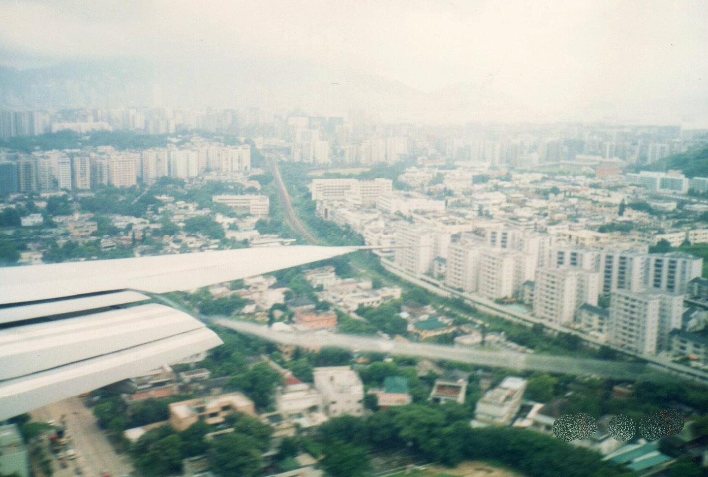 空からの香港(1988年)①