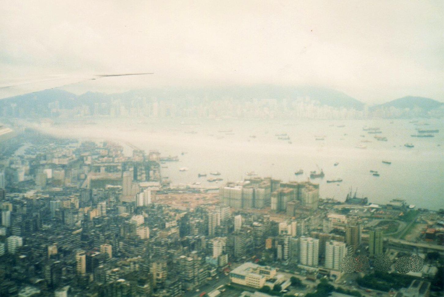 空からの香港(1988年)②