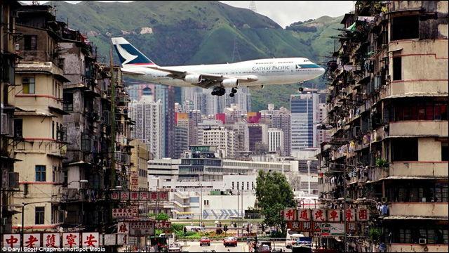 香港・カイタック空港②