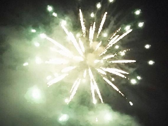 琵琶湖の花火③-1