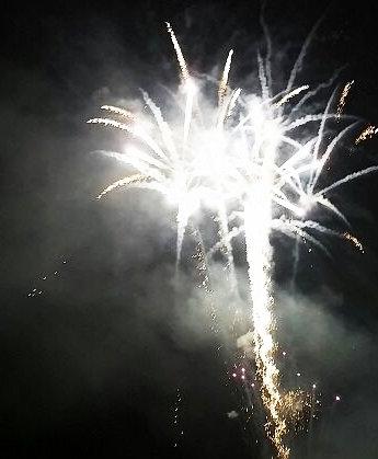 琵琶湖の花火⑥