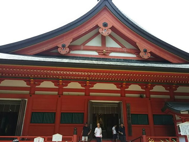 比叡山・横川中堂(2015年8月2日)-1