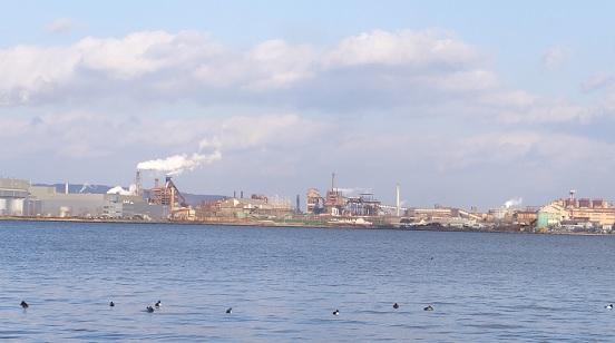 1月4日室蘭港4