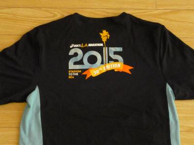 LAマラソンTシャツ2