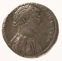 クレオパトラ銀貨