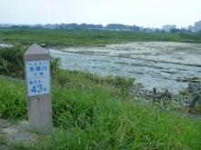 20150727 多摩川43km地点