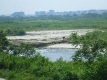 20150801 陸路の河川沿いを溯る
