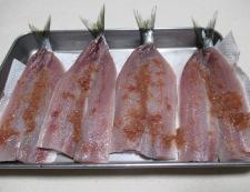 イワシの梅紫蘇巻きフライ 調理①