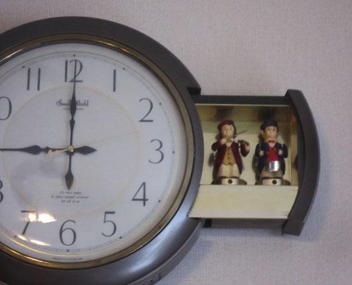 「からくり時計」