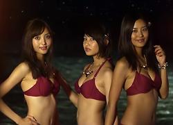 パチンコ「CR 大海物語BLACK」で使用されている歌と曲の紹介。「星に伝えて / 6代目ミスマリンちゃん(小柳歩、大浦育子、美月)」