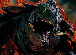 パチンコ「CR ガメラ」で使用されている歌と曲の紹介。「灼熱の咆哮~Legend of GAMERA~ / JAM Project」