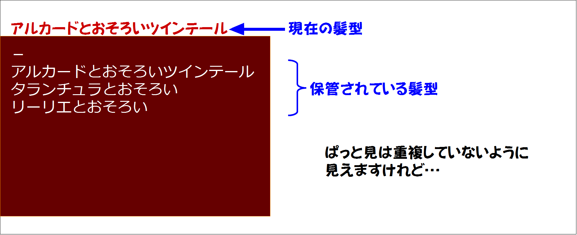 重複解消シンプル版1