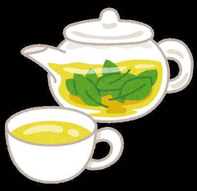 お茶イラスト