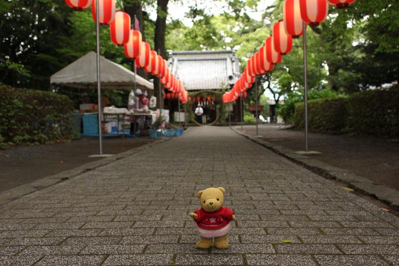 安東熊野神社で 150630