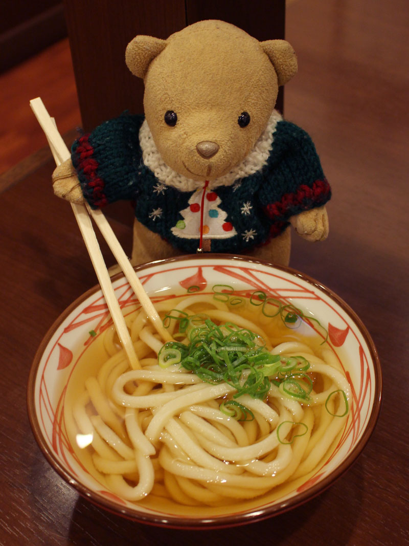 丸亀製麺かけうどん小を